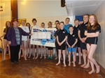 Local swimming group receives £1,000 - March 2014