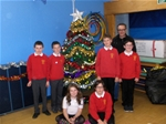 Christmas Tree switch-on at St. Anthony's PS - Dec 2013