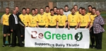 Dalry Thistle FC £1000 donation, June 2010
