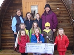 Working Partnership and £6,000 for Girl Guiding Ayrshire North - Feb 2014