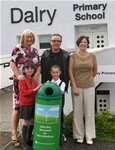Extra recycling bin for Dalry Primary School - Sept 2013
